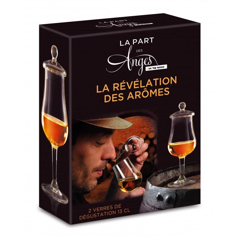 coffret 2 verres olfactifs d gustation whisky la part des anges. Black Bedroom Furniture Sets. Home Design Ideas