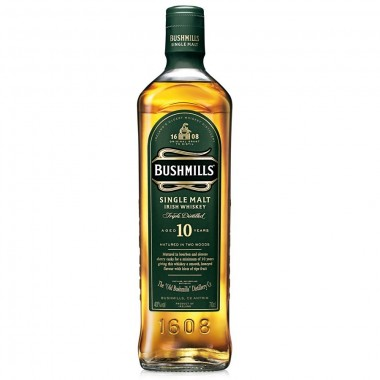 Whisky Irlandais Bushmills 10 ans d'age