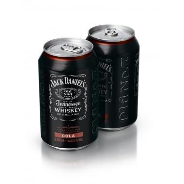 Whisky coca en canette x12 Jack Daniel's Cola
