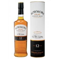 Whisky tourbe Ecossais Bowmore 12 ans