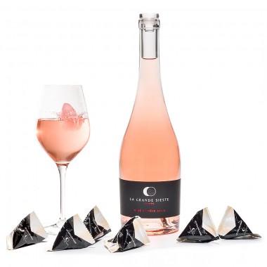 Rosé LA GRANDE SIESTE 75 cl + 6 Cailloux Rosé