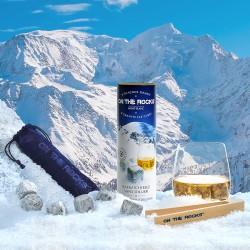 Coffret Cadeau du Mont-Blanc | 6 Glaçons granit + Pince