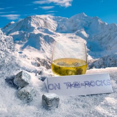 3 Glaçons granit du Mont-Blanc