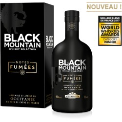 BLACK MOUNTAIN NOTES FUMEES 70cl