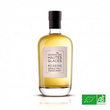 DOMAINE DES HAUTES GLACES Les Moissons - Single Malt Organic  44,8%
