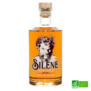 Whisky bio single malt SILENE 70cl 41,2%Vol