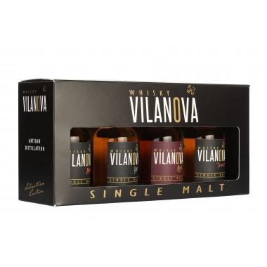 Coffret découverte Whisky Vilanova - distillerie Castan