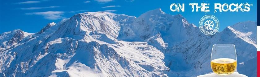 Glaçons granit du Mont-Blanc